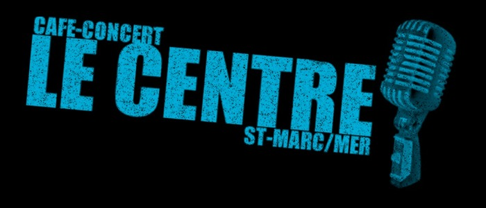 Logo noir du café concert Le Centre de Saint-Nazaire
