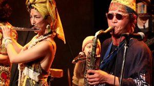 deux musiciens de jaribu à saint nazaire
