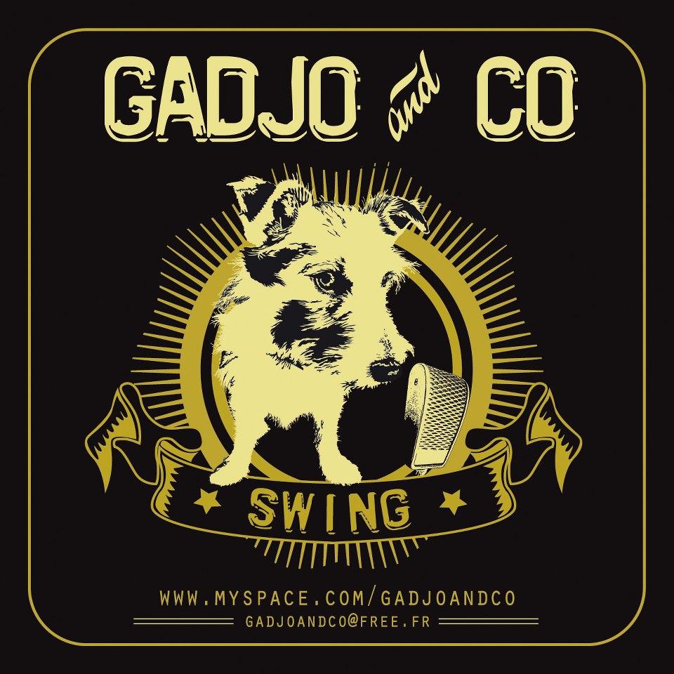 Le logo de Gadjo and Co au Centre à Saint Nazaire