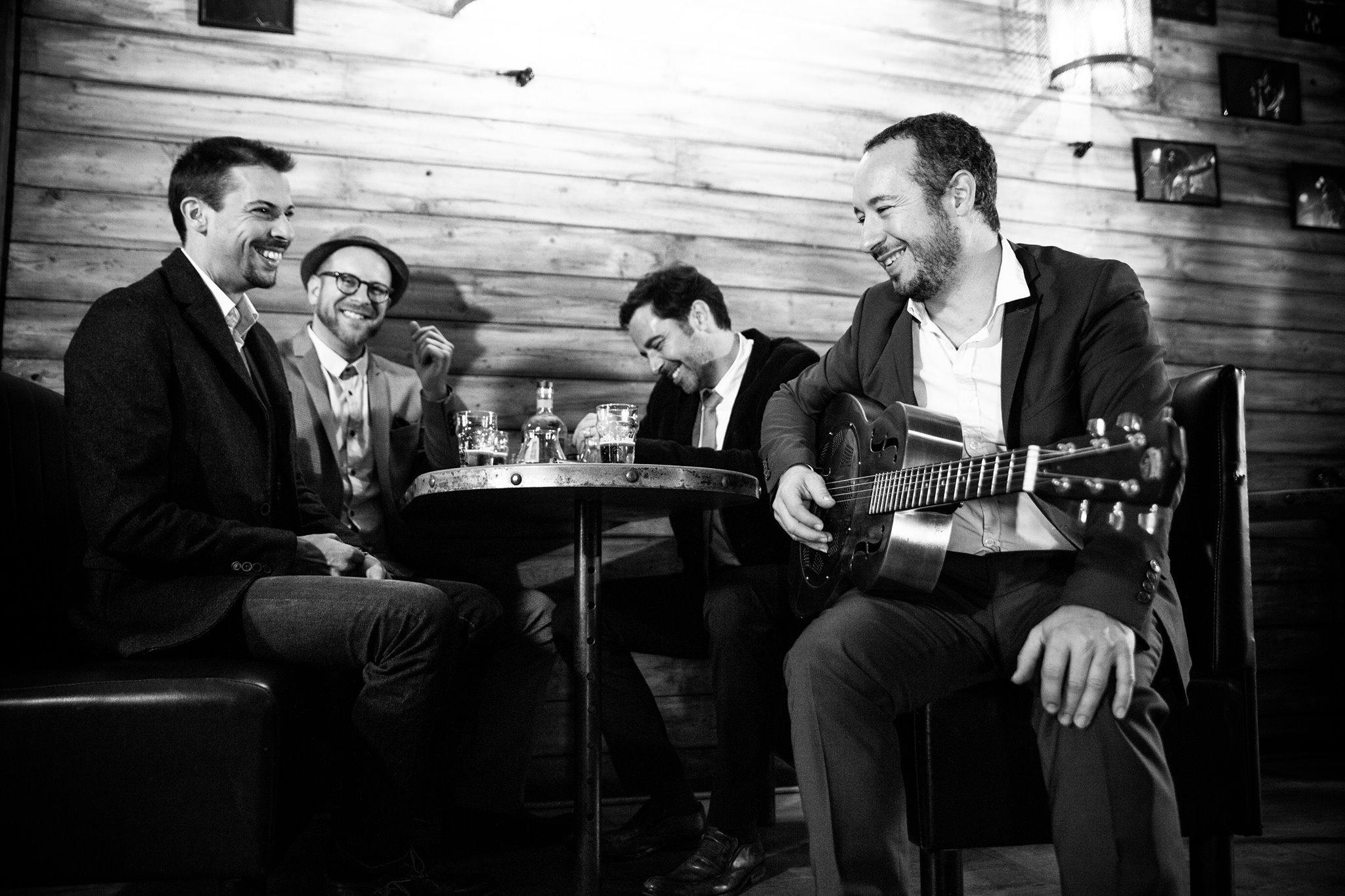 Arnaud Fradin vient jouer a Saint Nazaire avec His Roots Combo