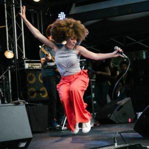 Audrey Lopes joue au Centre à Saint Nazaire le 15 septembre 2017