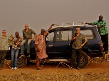 Photo de Kunbe au Mali, ils vont jouer au Centre à Saint Nazaire