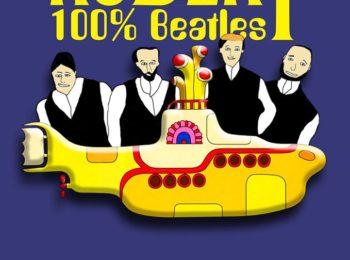 Logo de Docter Robert 100 % Beatles qui jouent au Centre à Saint Nazaire