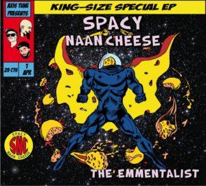 Logo de Spacy Naan Cheese qui viennent jouer au café-concert Le Centre à Saint Nazaire