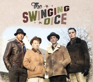 The Swinging Dice jouent au café-concert Le Centre à Saint Nazaire.