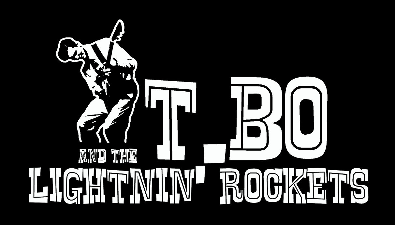 Logo de T.Bo and the Lightnin Rockers qui viennent jouer au café-concert Le Centre à Saint Nazaire