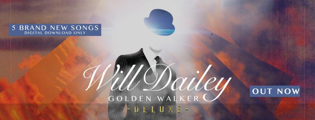 Affiche de Will Dailey avec ses cinq chansons qui va jouer au café-concert Le Centre à Saint Nazaire.