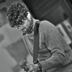 Will Dailey, musicien qui vient au café)-concert Le Centre à Saint Nazaire.