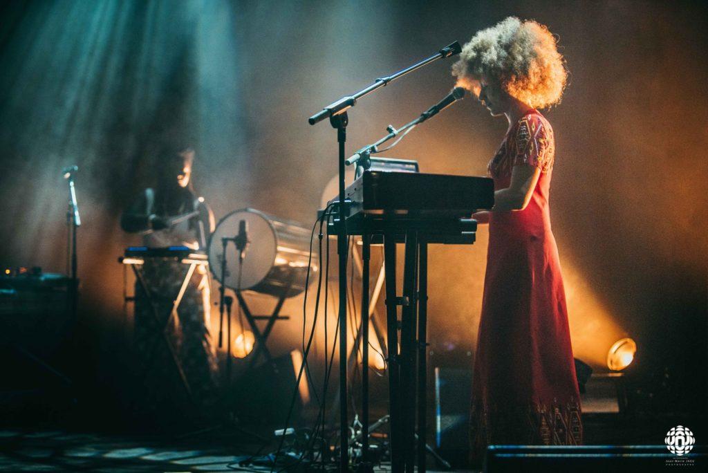 image live du duo afrodite en concert au centre a saint nazaire