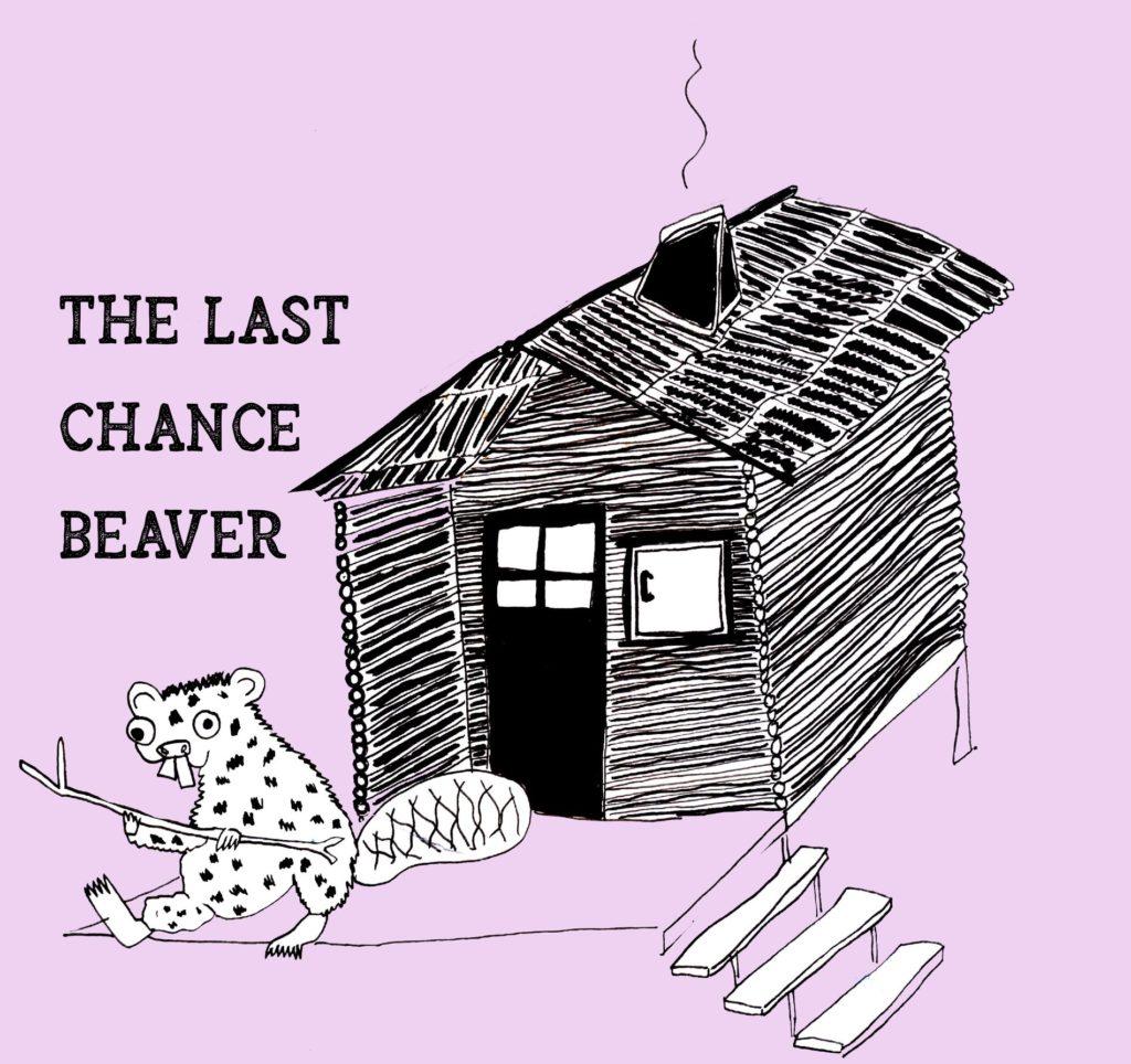 Le logo du groupe 'the last chance beaver' en concert au cafe Le Centre a Saint Nazaire