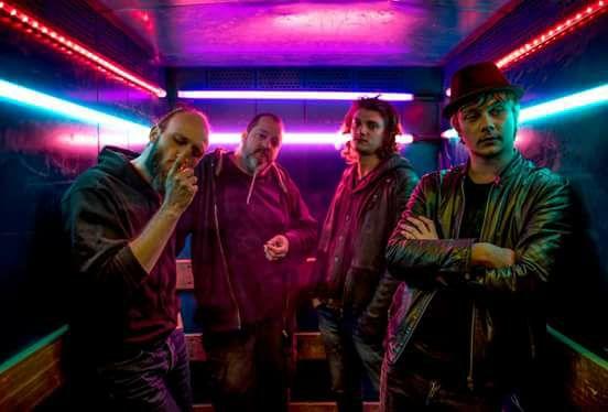 Groupe de rock Undervoid au café concert Le Centre à Saint Nazaire