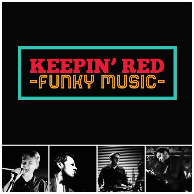 Logo du groupe 'Keepin' Red' en concert à Saint-Marc-sur-Mer