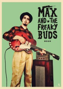 Max and the freaky buds en concert au café Le Centre a Saint Marc sur Me