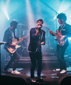 Le quartet pop electro groove 'Ask After B' au café concert Le Centre à Saint Marc sur Mer