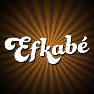 Logo du groupe 'Efkabé' en concert au café Le Centre à Saint-Nazaire