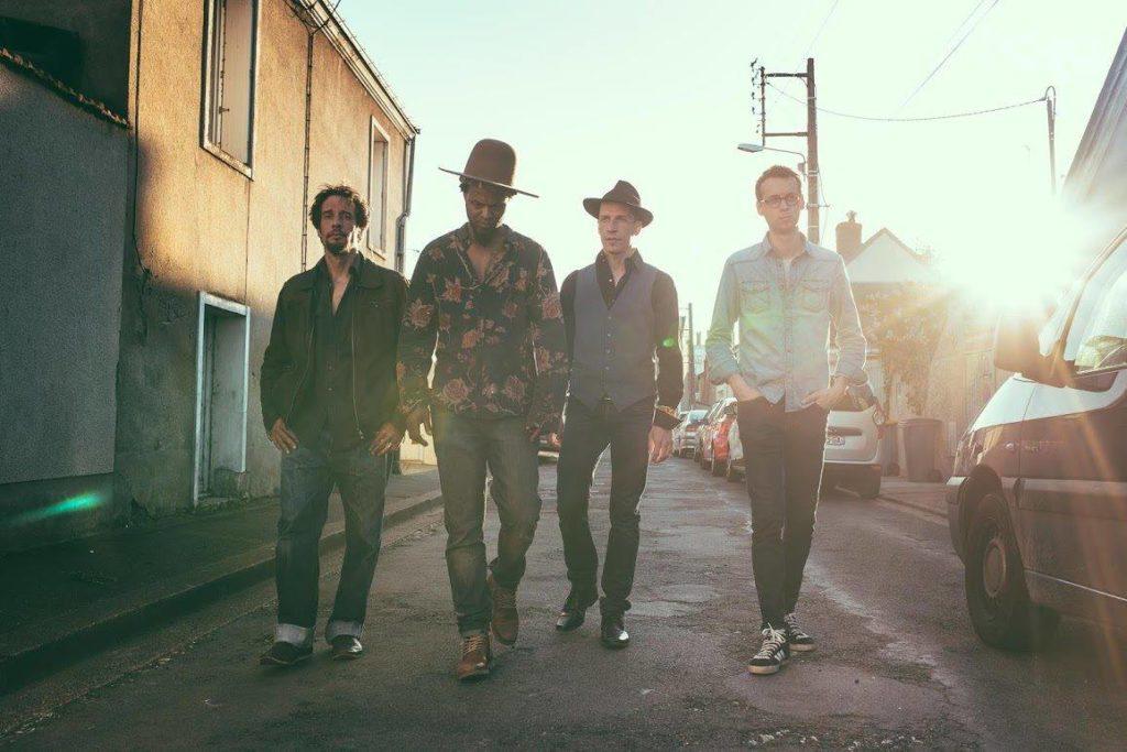 Le quartet 'Revivor', Live au café concert Le Centre à Saint Nazaire