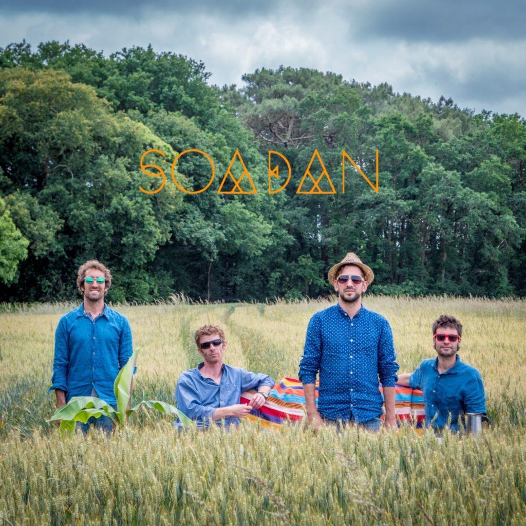 Soadan, groupe de musique du monde en concert au café Le Centre a Saint-Nazaire