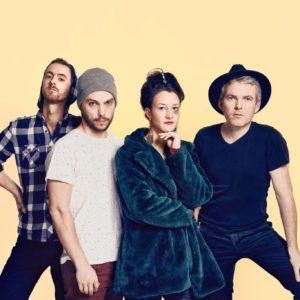RedSharp, un groupe qui vient jouer en concert au café-concert Le centre à Saint Nazaire.