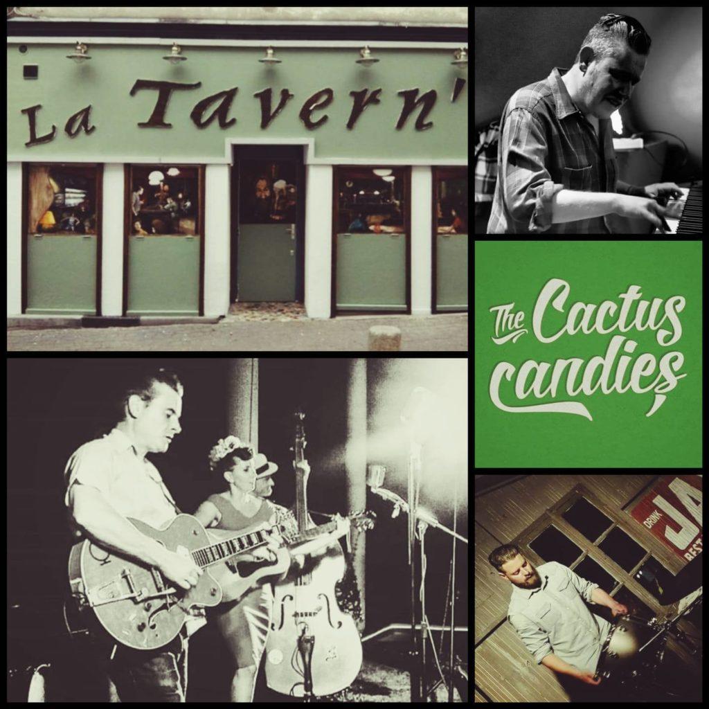 The Cactus Candies en concert au Centre à Saint Nazaire.