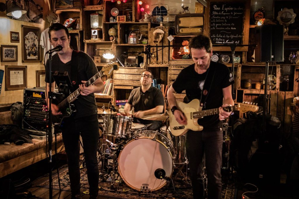 Bariton Park, en concert au café restaurant 'Le Centre' à Saint-Nazaire