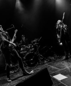 Birdstone, groupe de rock Psychédélique sur la scène de café concert 'Le Centre' à Saint-Marc-sur-Mer