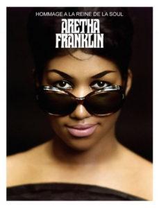 un talentueux collectif de musiciens nantais rendra un hommage exceptionnel et inédit à une figure légendaire et incontournable de la Soul disparue en août 2018 : Aretha Franklin qu'on voit ici.