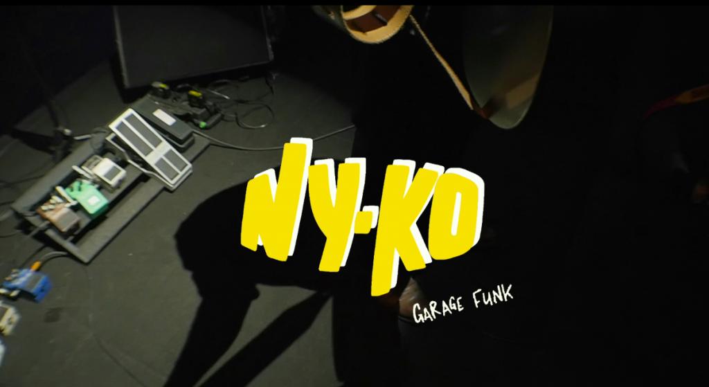Logo NY.KO ,Garage FUNK, en concert au Centre à Saint Nazaire