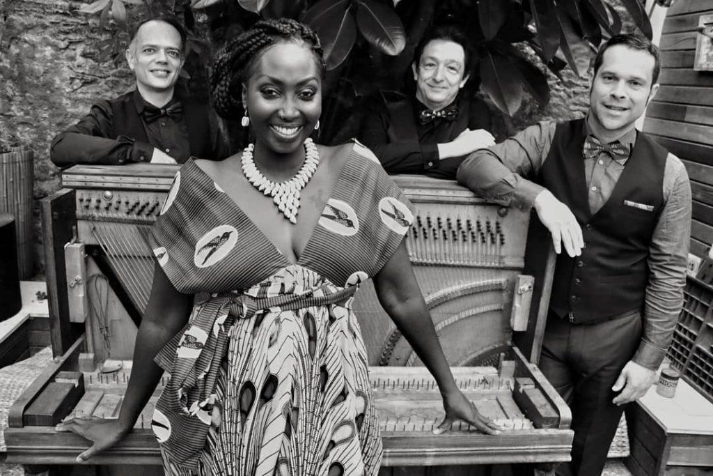 Ndeye Quartet, du blues acoustique au rendez vous au café restaurant Le Centre à Saint-Nazaire
