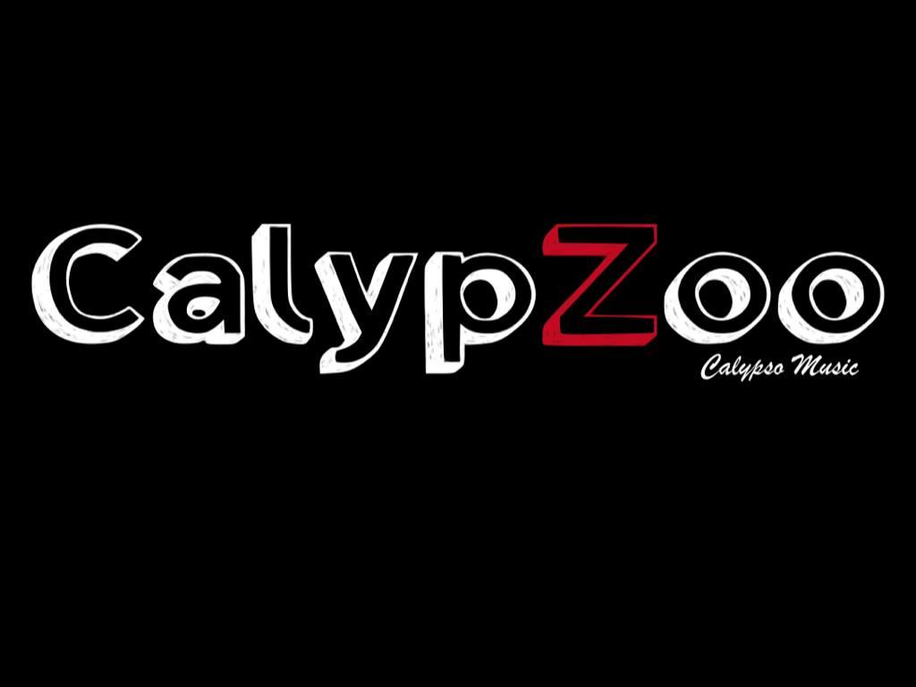 Logo du groupe 'Calypzoo', musique des Caraïbes au café restaurant Le Centre à Saint-Nazaire.