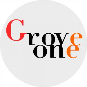 Logo du groupe 'Grove one', Jazz funk & groove, live sur la scène de café concert Le Centre à Saint-Marc-sur-Mer
