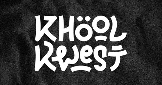 Logo du groupe Khool Kwest, en concert au café restaurant Le Centre à Saint-Nazaire
