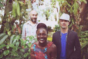 Musique transe-africaine avec le groupe Djusu au café-concert Le Centre à Saint-Nazaire.