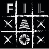 Logo du groupe de Rock 'Filao' en concert au café concert Le Centre à Saint-Marc-sur-Mer.