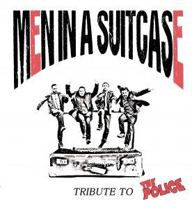 Le groupe 'Men in a suitcase' fait hommage au célèbre 'Police' sur la scène du café concert Le Centre à Saint-Marc-sur-Mer.